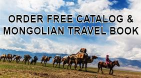 Order Free Catalog and Mongolian Travel Book
