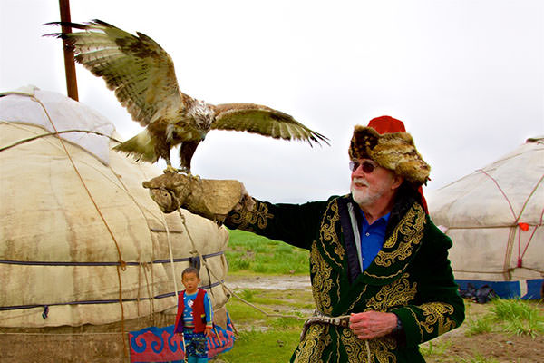Western Mongolia, Eagle Hunting Family and Gobi Desert